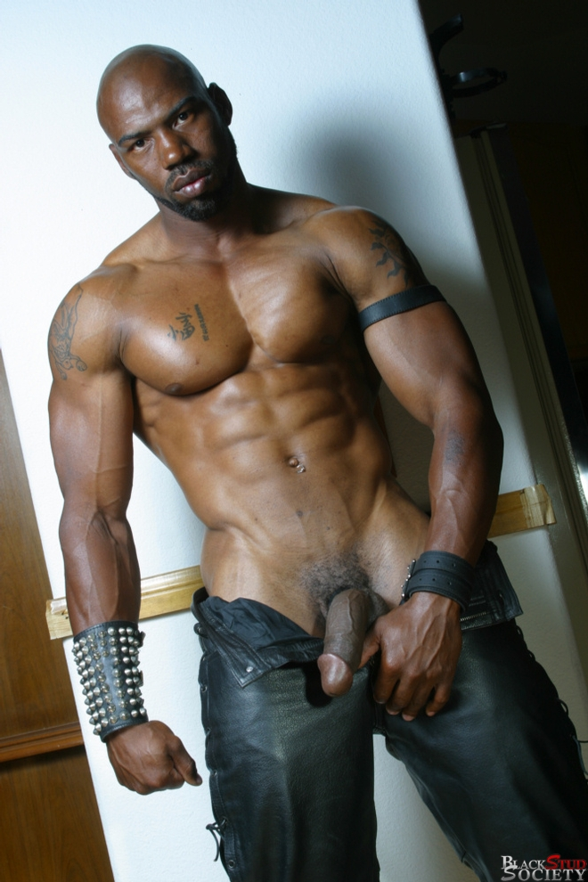 from Kareem black muscle hunk gay