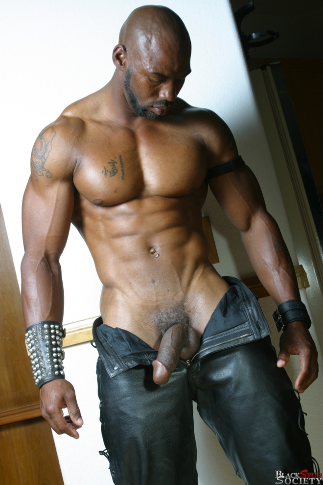 Ebony Studs Gangbang Asian Hunk