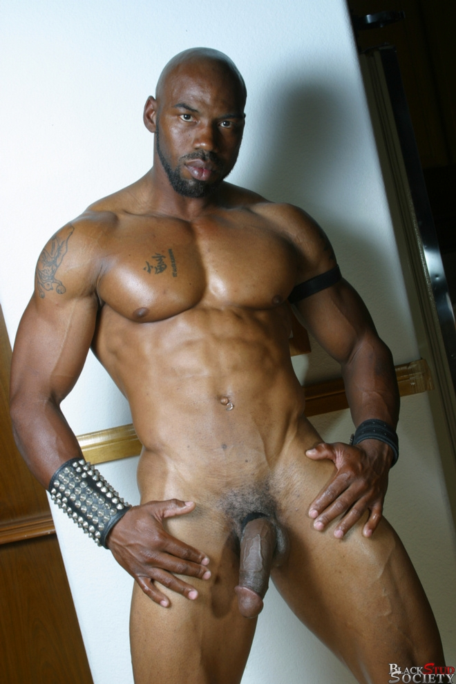gay muscle black picture