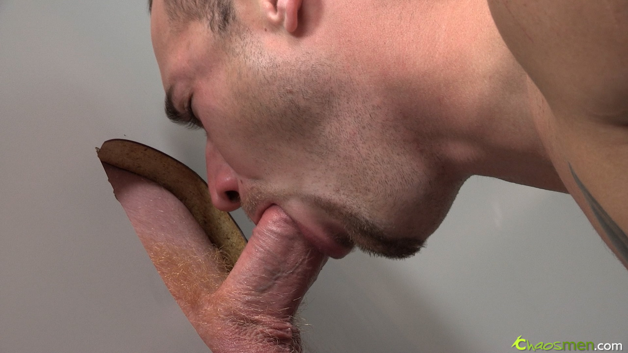 Male glory hole sex