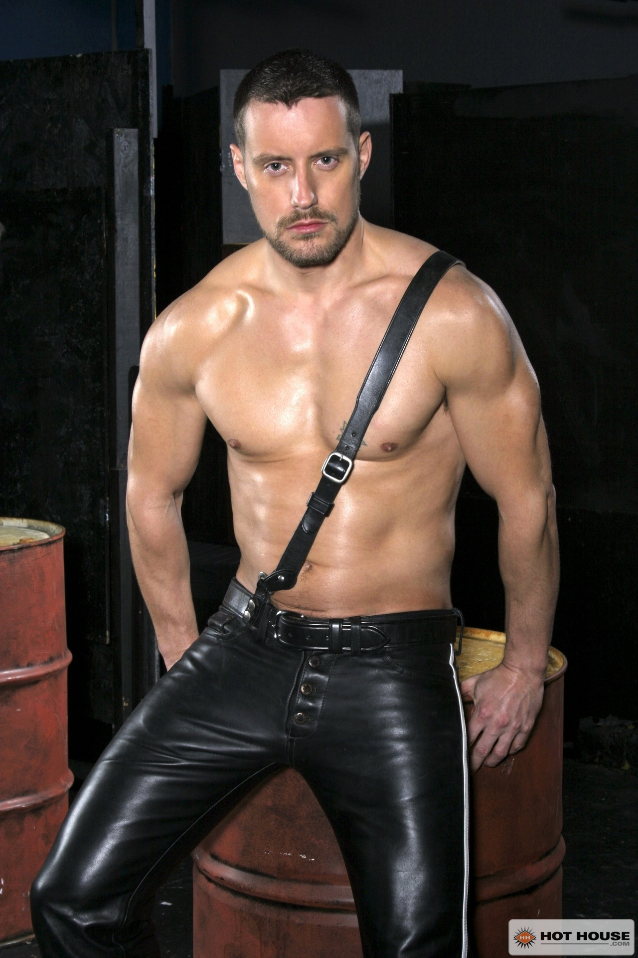 gay porn jeans leather