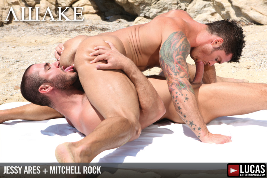 Jessy Ares Tops Mitchell Rock\\\'s Ass on the Beach at ...
