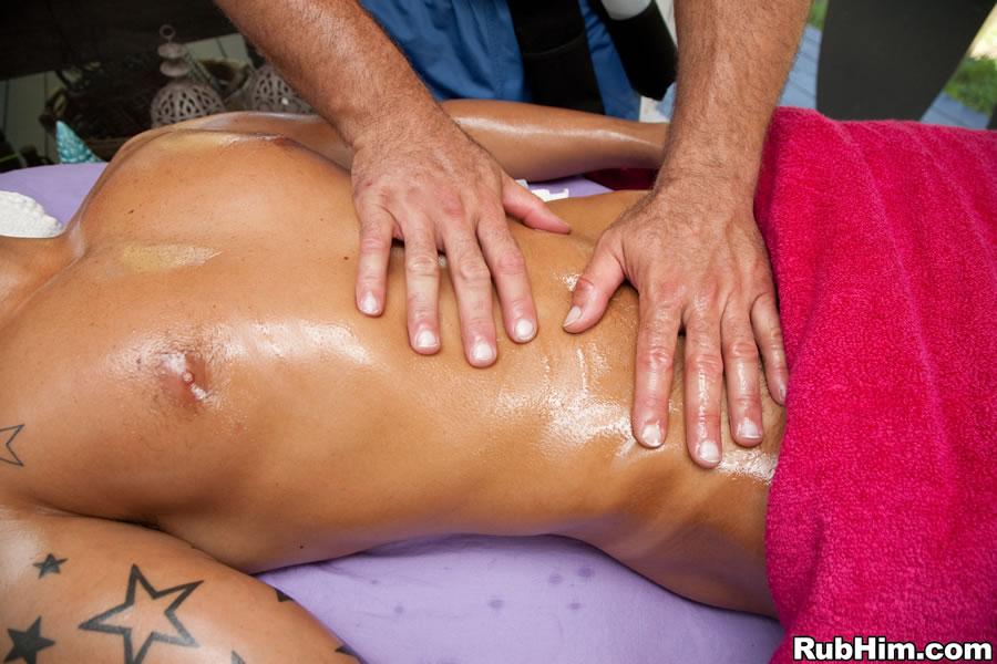 gay male massage therapist