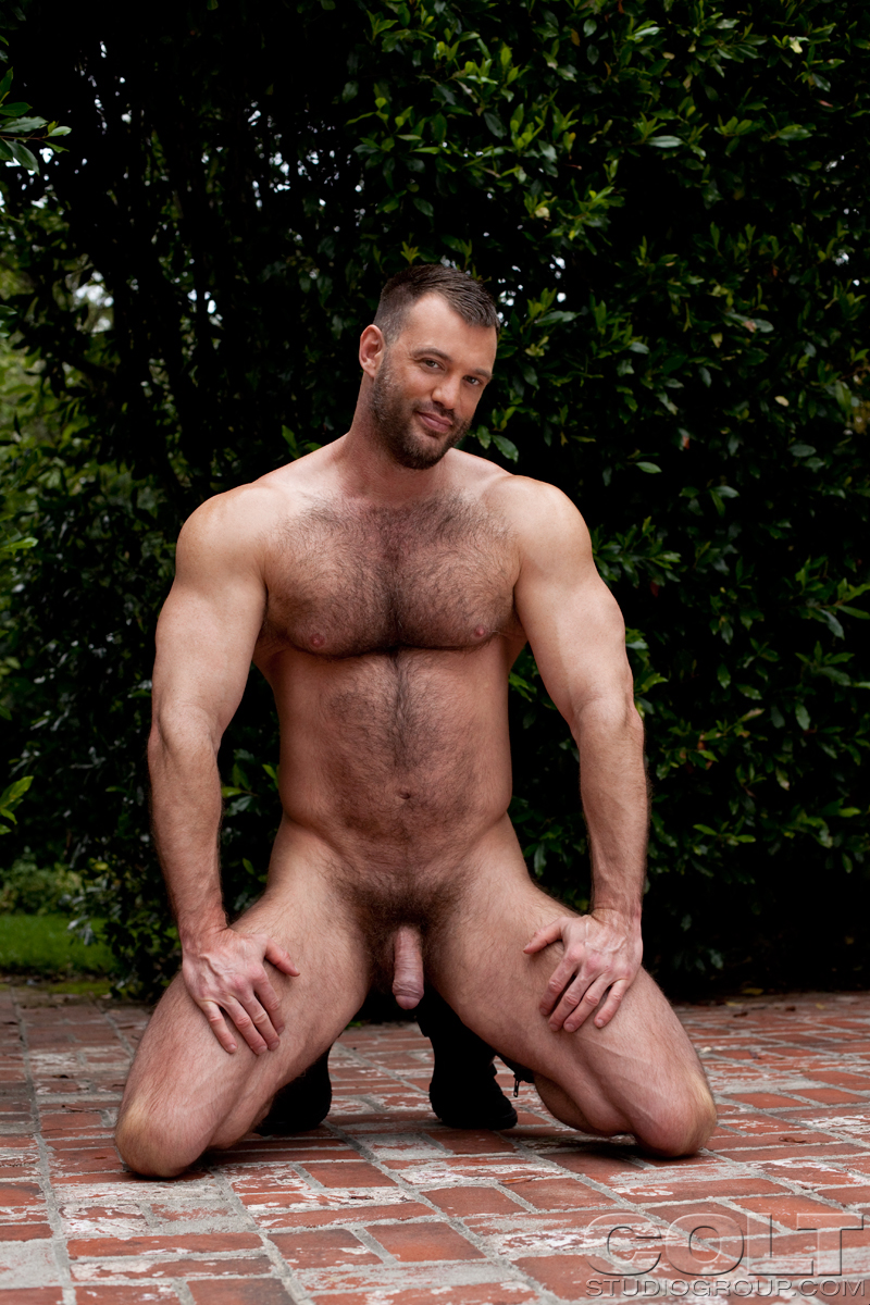 Hairy Muscle Men Sex