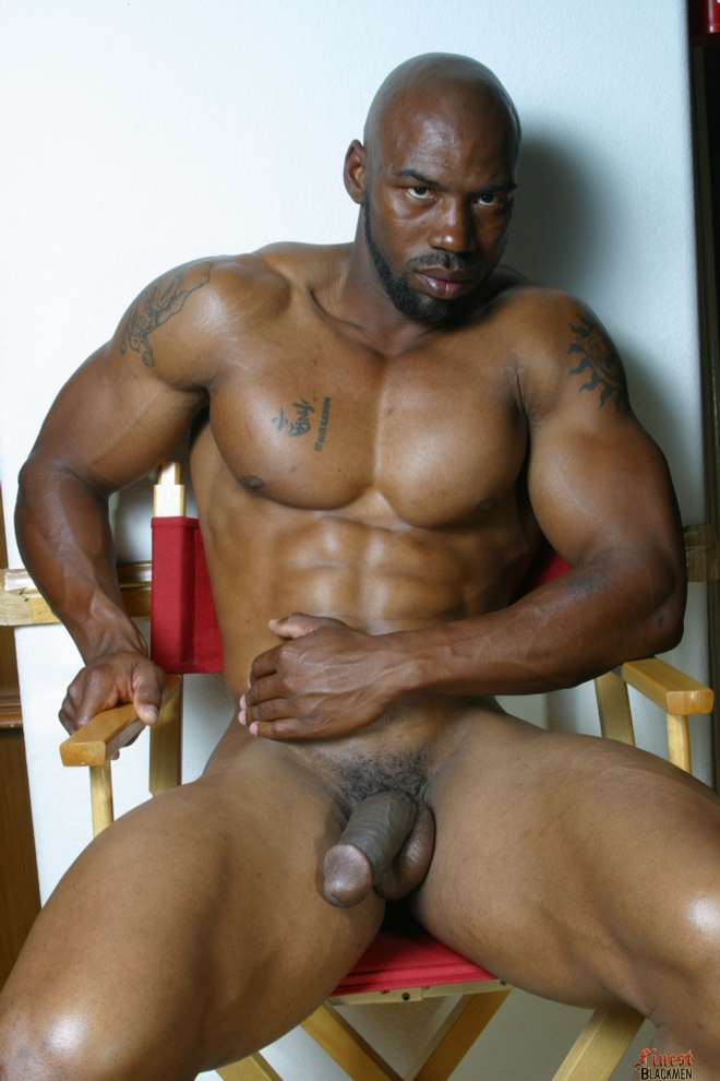 gay black fat